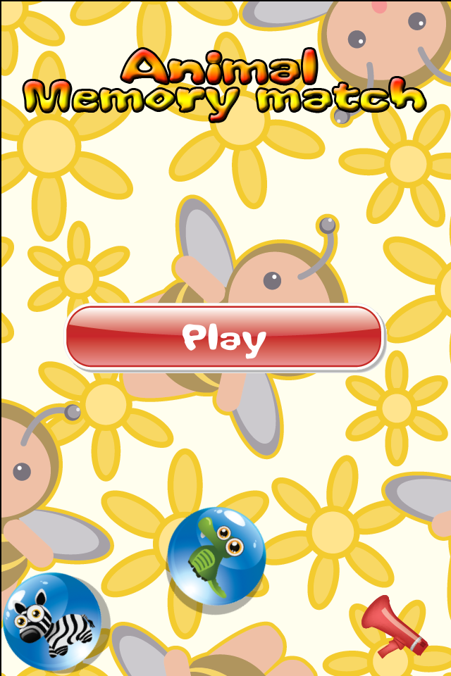 Screenshot Animal – Memory Match Game