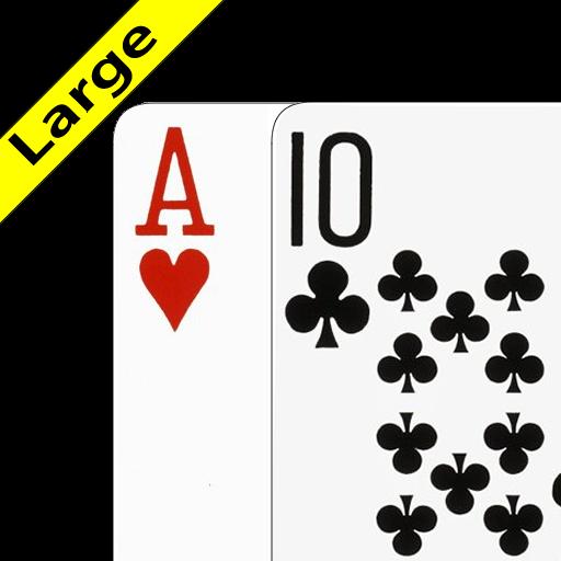 Blackjack helper card